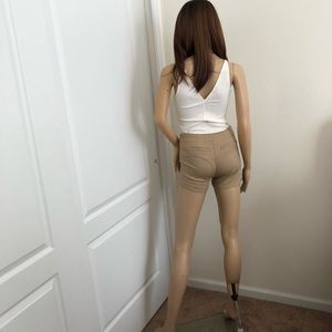 SO Shorts - SO Khaki shorts size 0(Juniors)